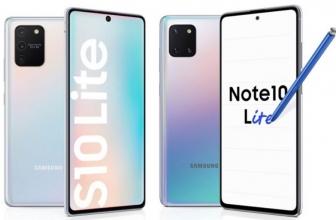 Duo Samsung 2020; Samsung Galaxy S10 Lite dan Samsung Galaxy Note 10 Lite