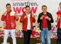 Smartfren WOW, Konser Virtual Disiarkan di 3 Negara