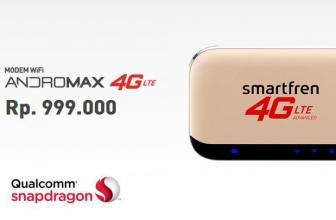 Smartfren Modem WiFi M5 4G LTE Bisa Merangkap Sebagai Power Bank