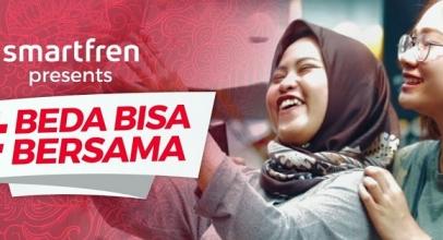 Smartfren Bikin Gerakan #Bedabisabersama Indonesia Unggul