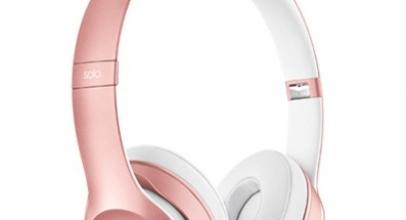 Beats Luncurkan Headphone Nirkabel Rose Gold