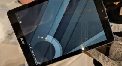 Tablet Acer Terpergok Gunakan Chrome OS