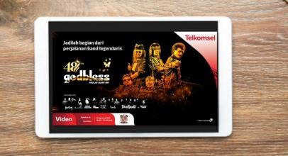 Telkomsel Maxstream Gelar Konser 48 Tahun Godbless