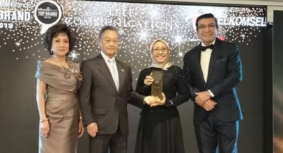 Telkomsel Raih Asia's Top Influential Brand 2019