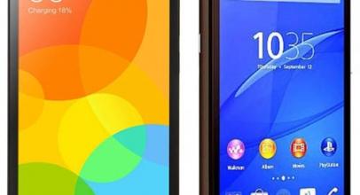 Xiaomi Redmi 2 VS Sony Xperia E4 Dual