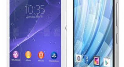 Sony Xperia M2 Aqua VS Wiko Getaway