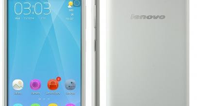 Lenovo S90, Wajah iPhone 6