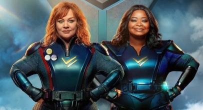 Netflix Club: Thunder Force, Reuni Lahirkan Duo Superwoman