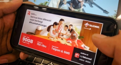 Paket Kuota Keluarga 90 GB dari Telkomsel