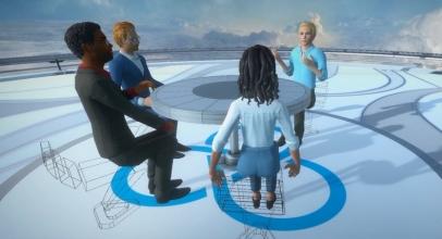 Rapat Masa Depan dengan Kacamata VR HTC Vive