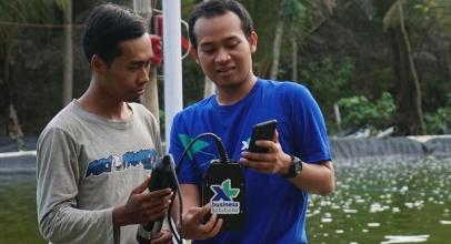 XL Axiata Bangun Smart Aquaculture