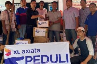 XL Axiata Bantu Korban Banjir Bandang Lebak dan Bogor