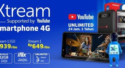 3 Smartphone XL Xtream, Harga Terjangkau Akses Internet Unlimited