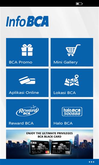 Info BCA Hadir di Lumia