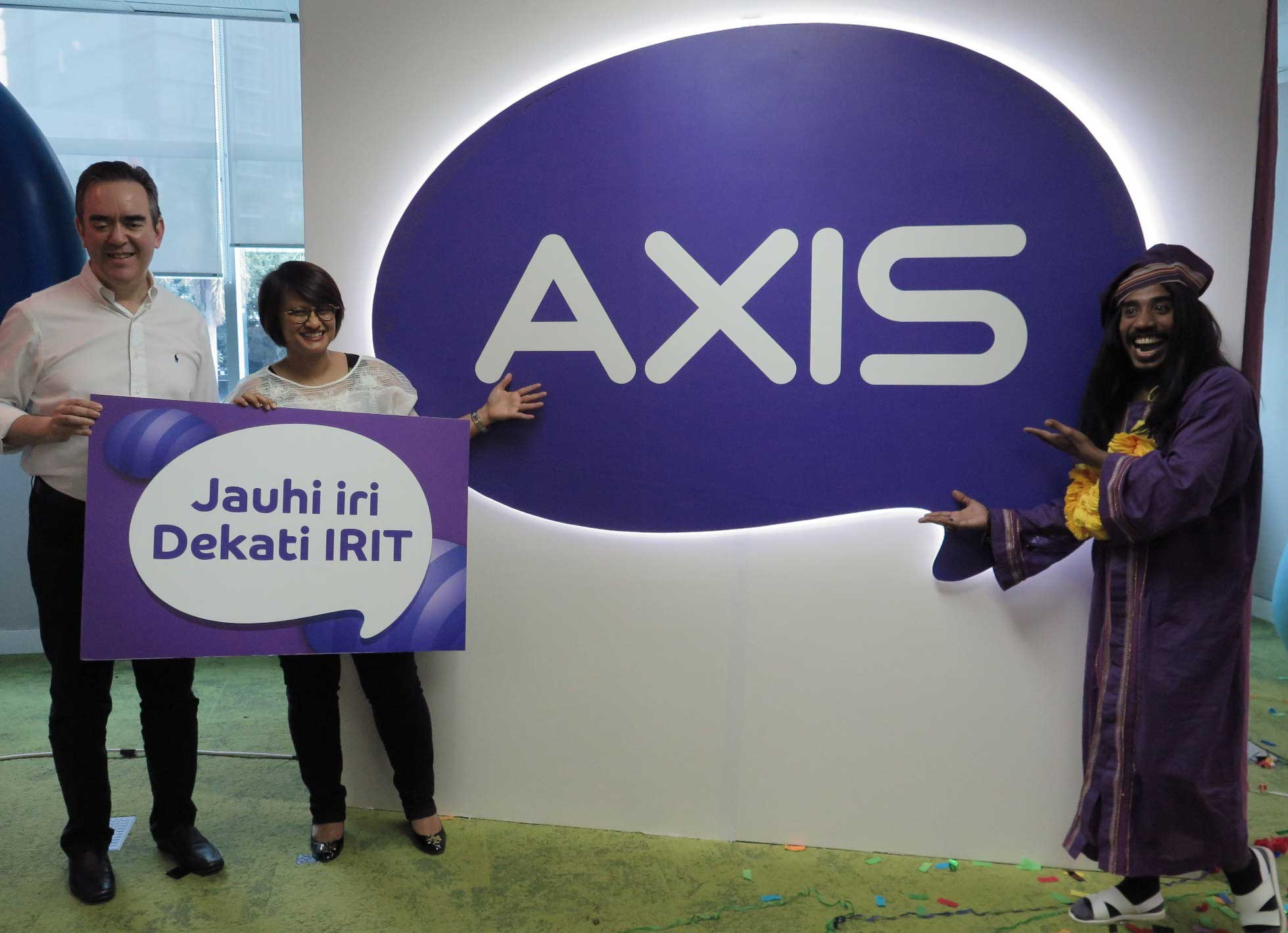 Hidup Hemat dengan AXIS Tarif Irit