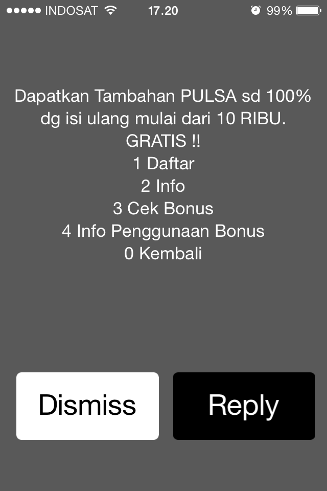 Horeee… Banjir Bonus Pulsa Indosat!