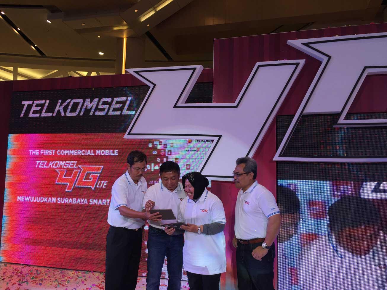 Telkomsel 4G LTE Hadir di Surabaya
