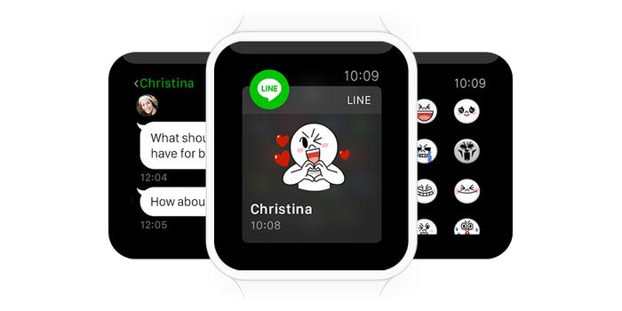LINE Dukung Apple Watch