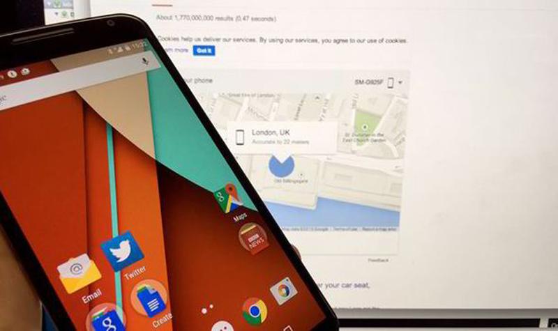 Ponsel Android Hilang? Gunakan  Find My Phone