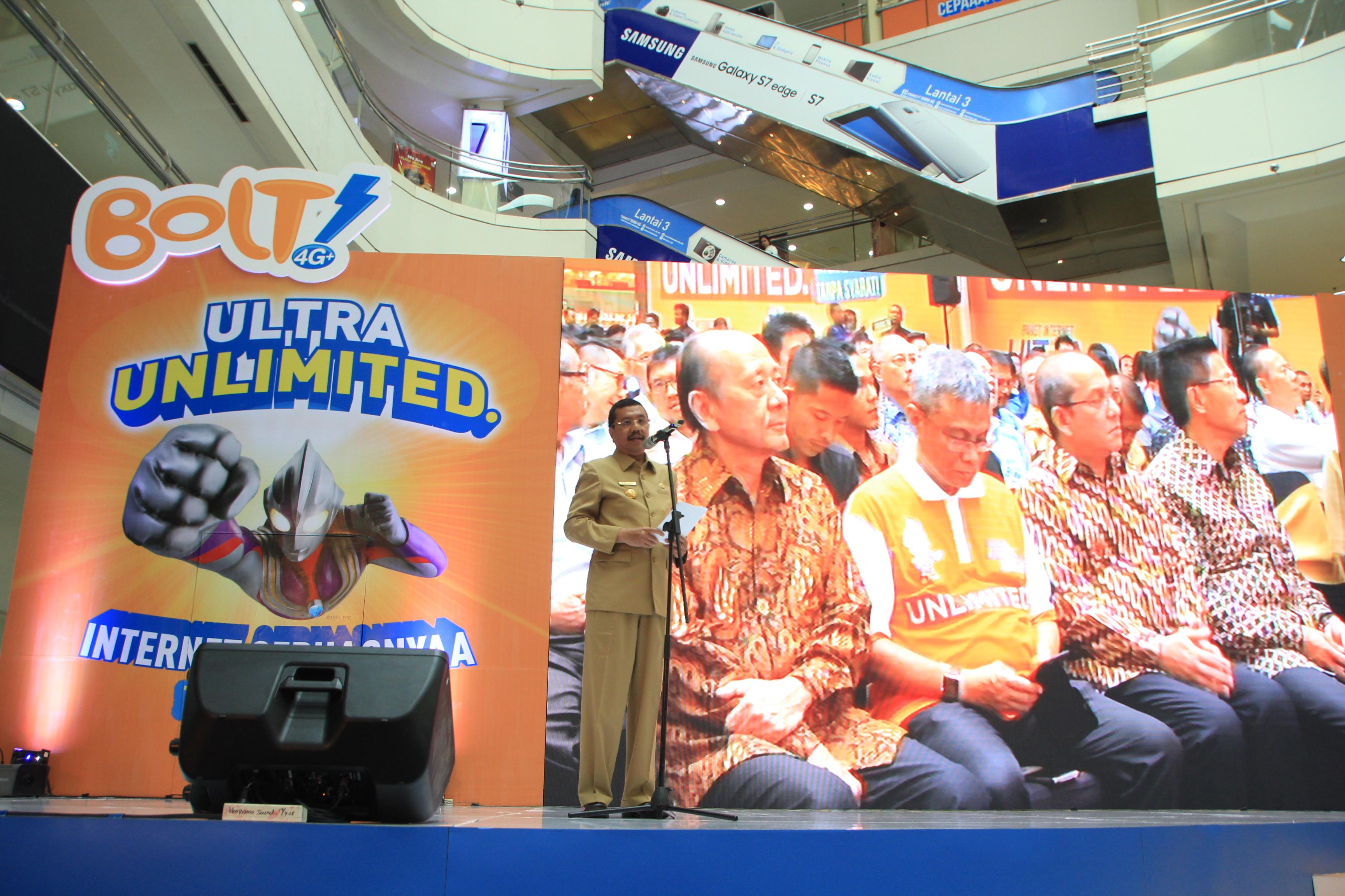 BOLT! Ultra Unlimited Kini Hadir di Medan