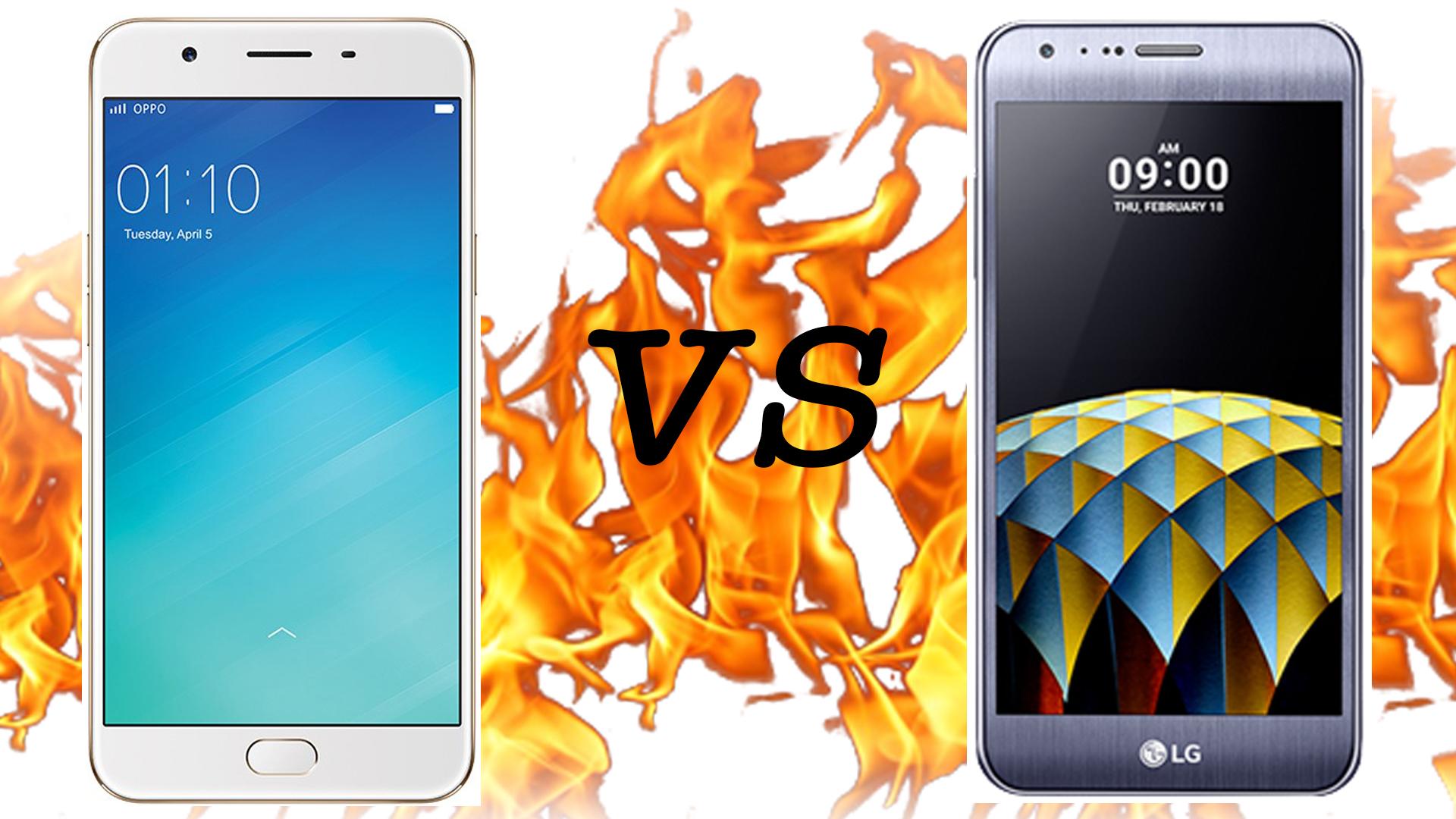 Oppo F1s VS LG X Cam