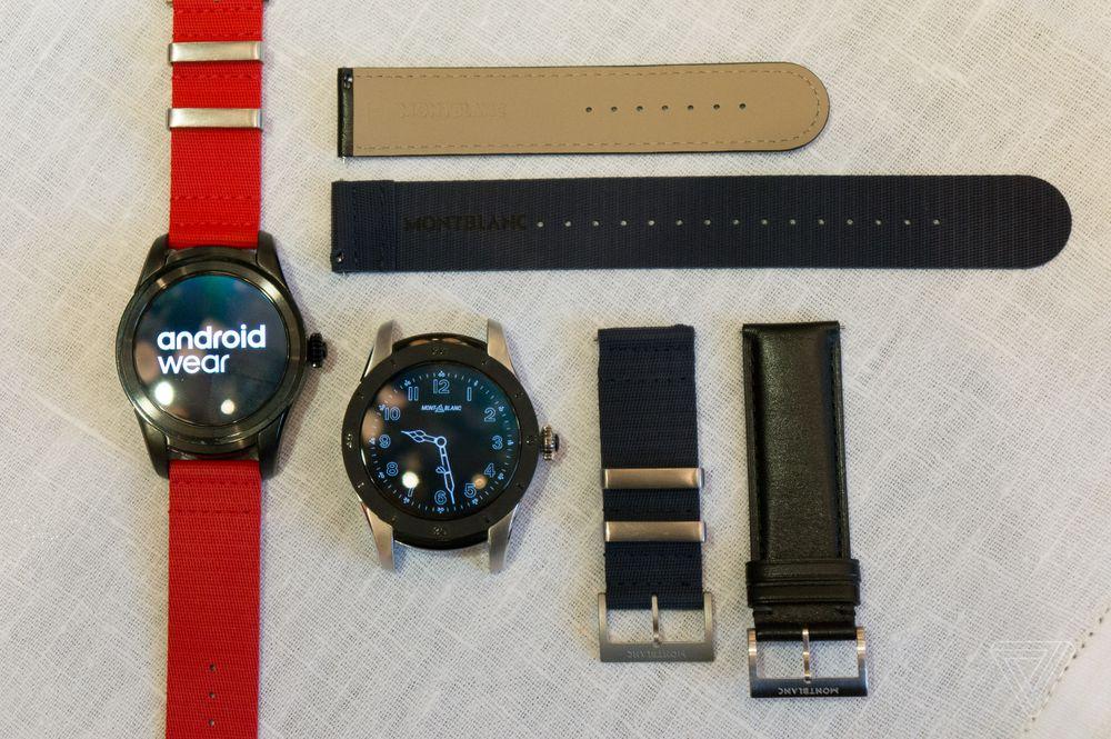 Smartwatch Pertama Montblanc Adopsi Android Wear