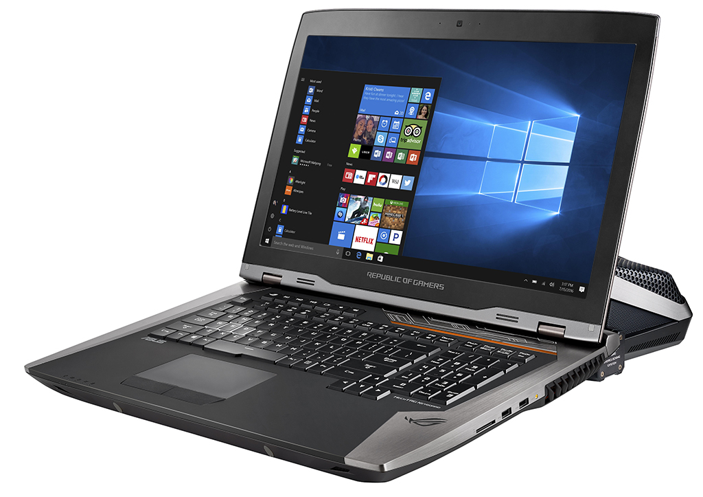 ASUS ROG GX800, Selamat Datang Notebook Gaming dengan Watercooling Terpisah