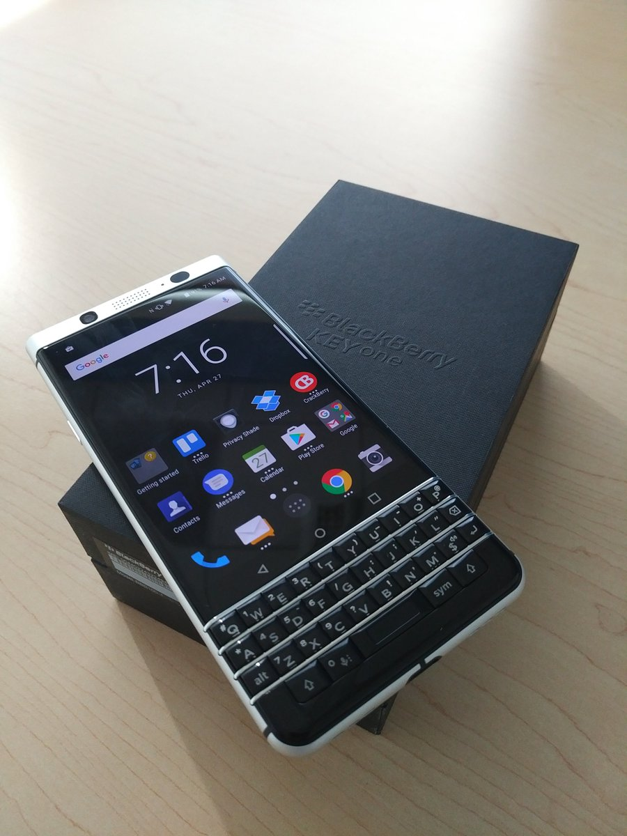 Yes! BlackBerry KeyONE dengan Kamera Sony IMX378 Siap Rilis