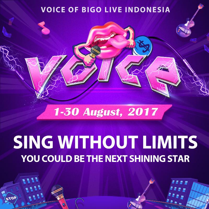 The Voice of BIGO LIVE Indonesia Hadir Kembali