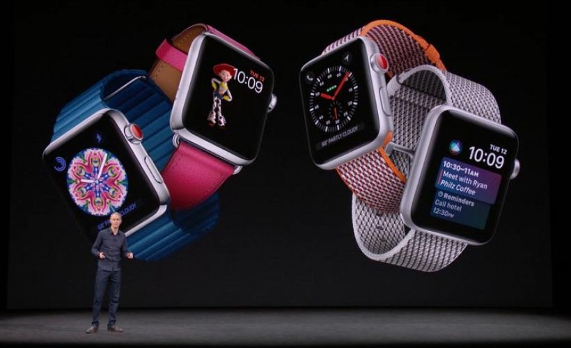 Apple Watch Series 3 Hadirkan LTE dan Chipset Lebih Cepat