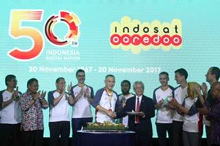 50 Tahun Indosat Kukuhkan Komitmen Bangun Masyarakat Digital Indonesia