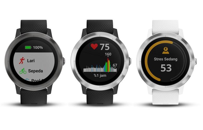 Tetap Bugar dan Aktif dengan Smartwatch Garmin vívoactive 3