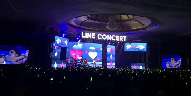 LINE Concert Pukau Pengguna Setia LINE di Medan