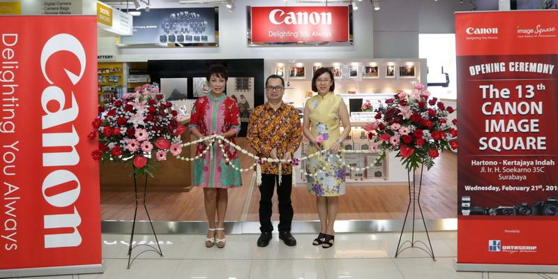 Canon Image Square ke-13 Resmi Dibuka di Surabaya