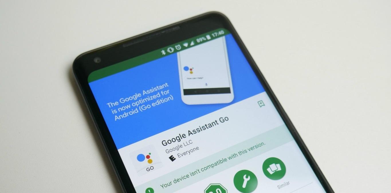 Google Assistant Go Sasar Smartphone RAM Mini