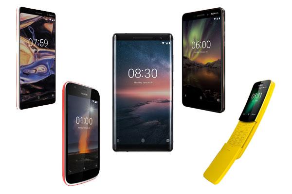 Tiga Smartphone Android Baru Nokia Kerjasama dengan Android One