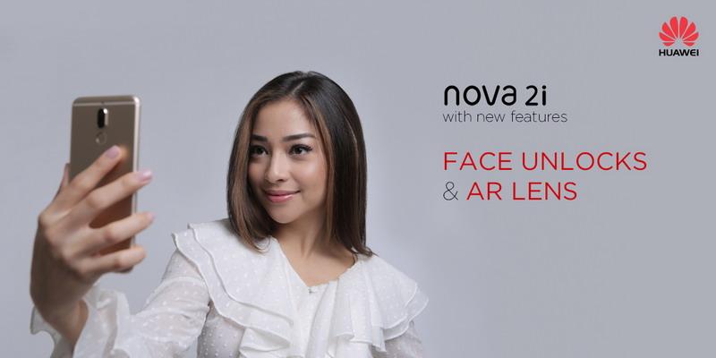Huawei Nova 2i Sekarang Dilengkapi Fitur Face Unlock dan Lensa AR