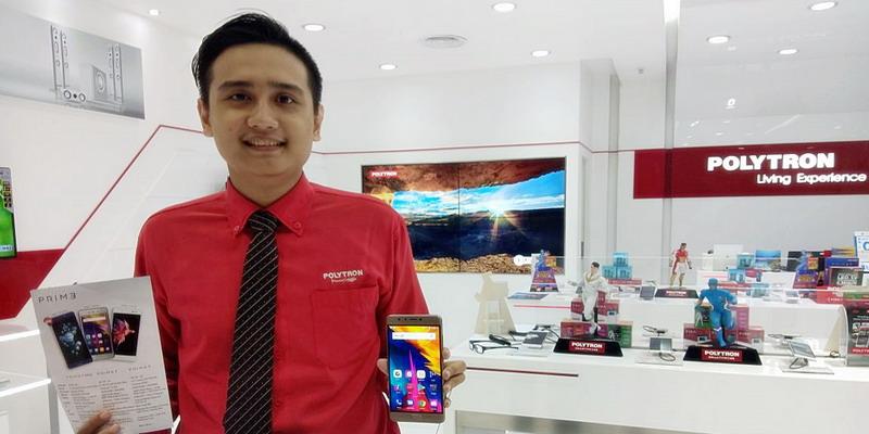 Polytron Luncurkan Prime 7 Pro, Smartphone dengan Baterai Tangguh