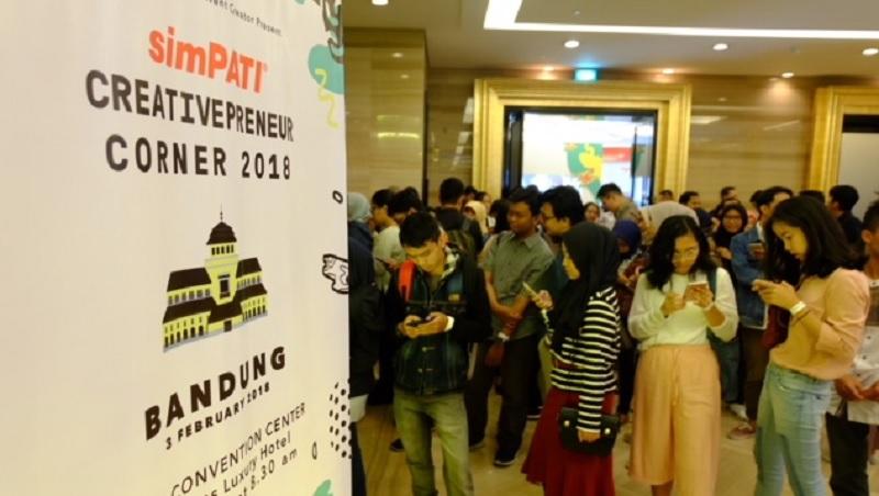 simPATI Creativepreneur Corner Berbagi Inspirasi bersama Inovator Muda