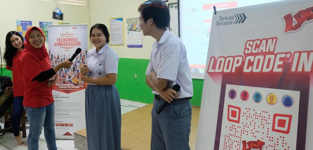 Telkomsel Siapkan Pelajar SMK Hadapi Dunia Kerja di Era Digital