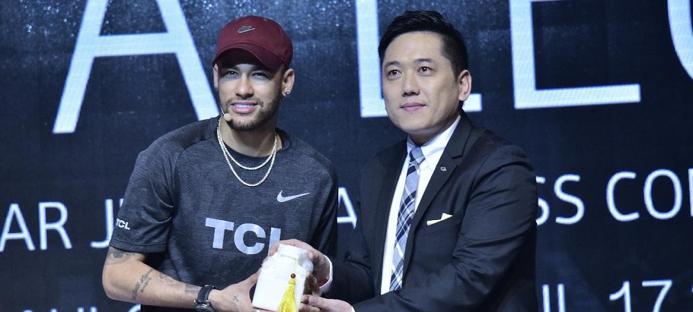 Neymar Jr. Resmi Jadi Duta Brand TCL