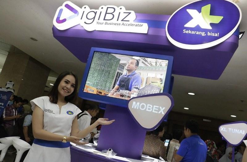 XL Axiata Resmikan Platform UKM Digital Bernama DigiBiz