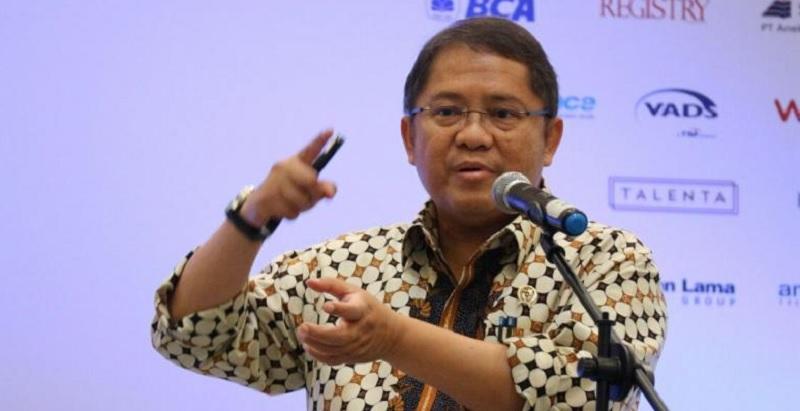 Rudiantara Berorasi di Unpad Bandung