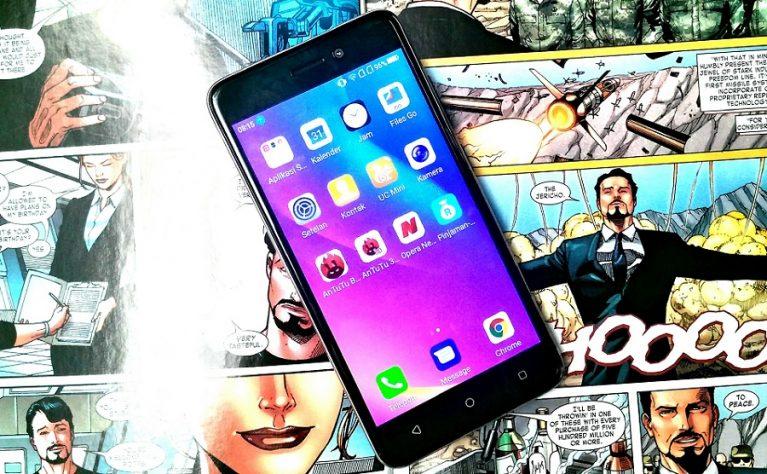 review advan s50 4g sisipkan android go harga cuma 777