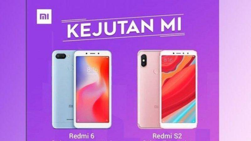 Buruan Beli! Xiaomi Potong Harga Untuk Redmi 6 dan Redmi S2