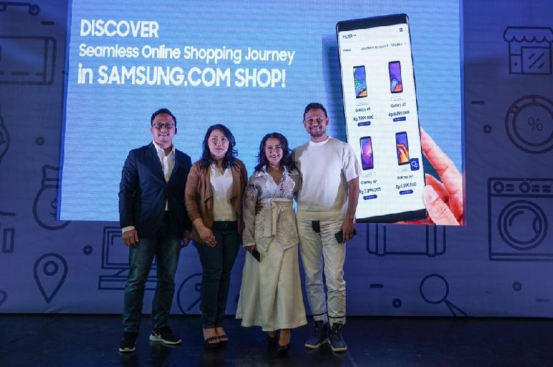 Samsung Resmi Buka Aplikasi Toko Online Samsung.com di Indonesia