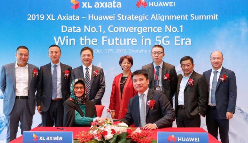 Berita XL: XL Axiata Gandeng Huawei Siapkan 5G