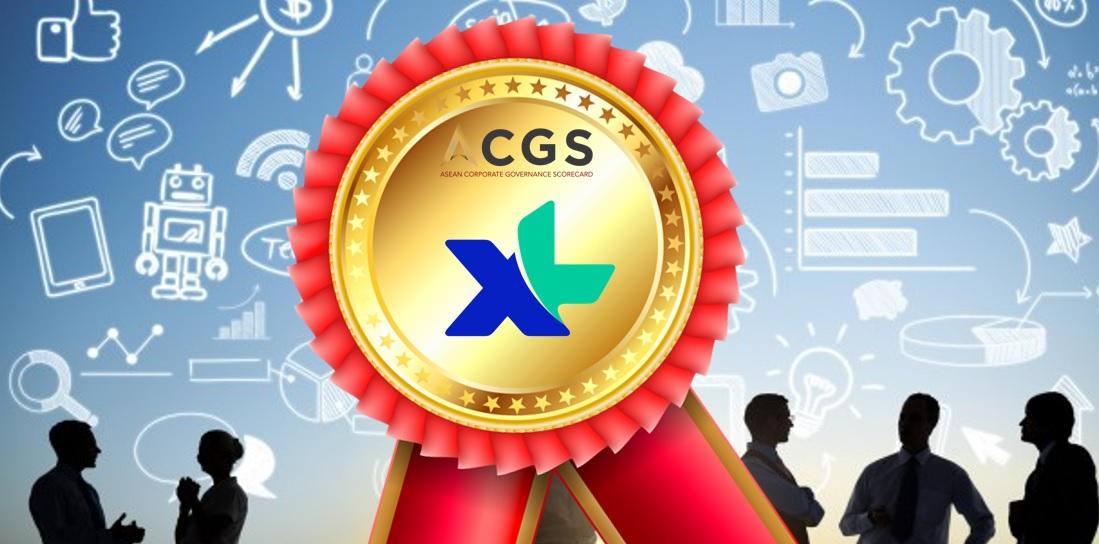 XL Corner: XL Axiata Raih 10 Besar Perusahaan ACGS 2019