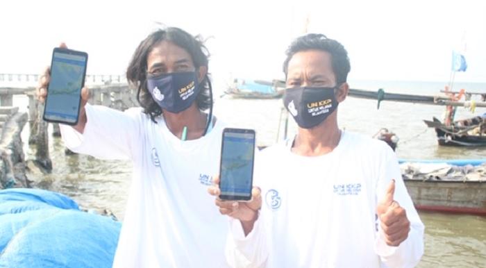 XL Corner: XL Axiata Kenalkan Aplikasi Laut Nusantara ke Nelayan Banten