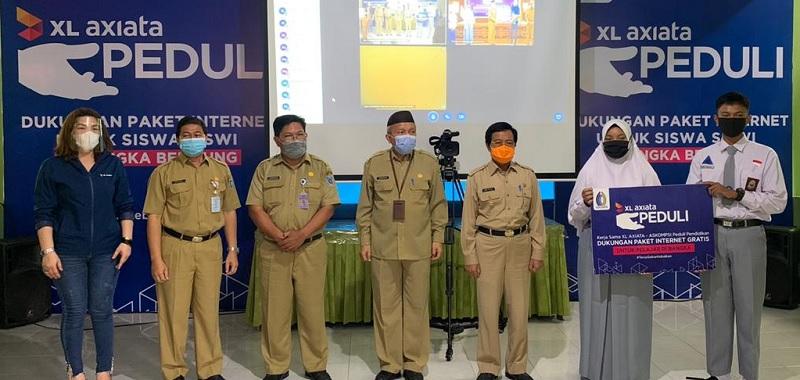 XL Axiata dan ASKOMPSI Dukung PJJ di Bangka